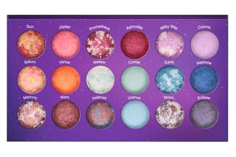 Bh Cosmetics Galaxy Chic bh cosmetics galaxy chic 18 color baked eyeshadow palette