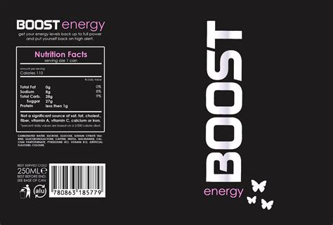energy drink template jra graphics boost energy drink for females