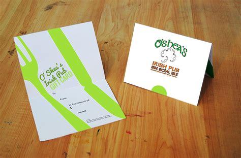 Irish Gift Cards - o shea s irish pub gift card o shea s irish pub
