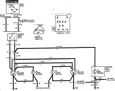 headlight dimmer switch wiring diagram efcaviation