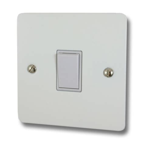 flat light switch cover flat white light switch 1 gang