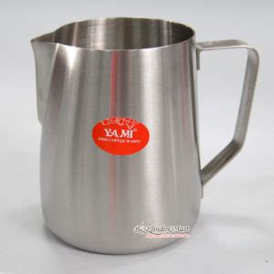 Yami Teflon Milk Jug 300 Ml Black ca ä 225 nh sá a si 234 u thá dá ng cá bar v 224 cafe