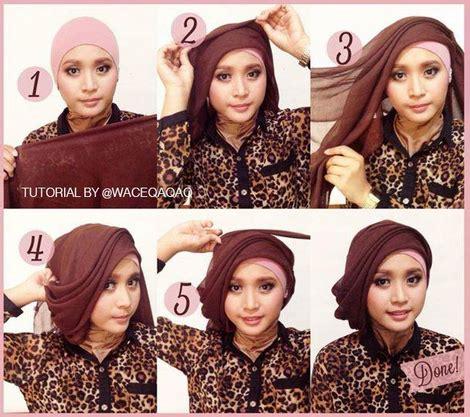 gambar tutorial hijab lebaran 2015 tutorial hijab modern elegan terbaru new tutorial hijab