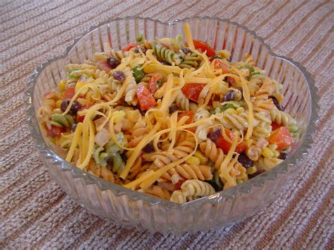 mexican macaroni salad recipe from pillsbury com mexican pasta salad recipe genius kitchen
