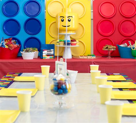 A Totally Awesome And Easy  Ee  Lego Ee    Ee  Birthday Ee    Ee  Party Ee   The Home