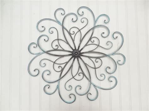 Faux Wrought Iron Wall Art You Pick By Theshabbystore On Etsy Wrought Iron Garden Wall