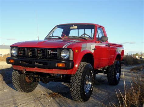 Classic Toyota 4x4 Trucks For Sale 1981 Toyota Hilux 4x4 1 Owner Classic