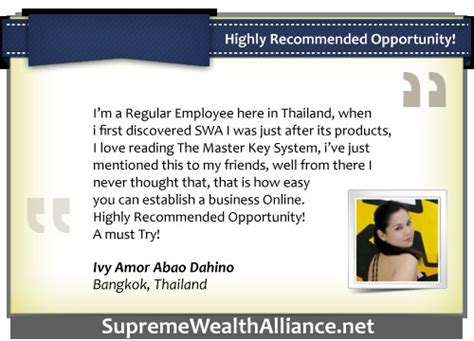 testo supreme supreme wealth alliance swa ultimate tips and updates