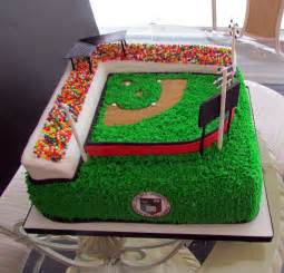 baseball field cakes decoration ideas little birthday cakes