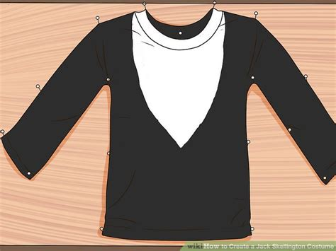 how to create a skellington costume 14 steps with