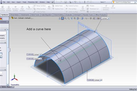 solidworks tutorial files tutorial freeform feature in solidworks grabcad