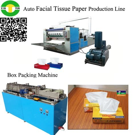 Paper Box Machine - automatic box drawing tissue paper machine