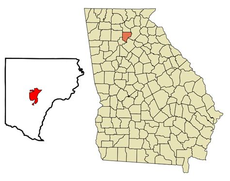 Forsyth County Ga Search File Forsyth County Incorporated And Unincorporated Areas Highlighted