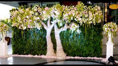 Wedding Backdrop Green by Madurai Decorators Green Wedding Backdrop