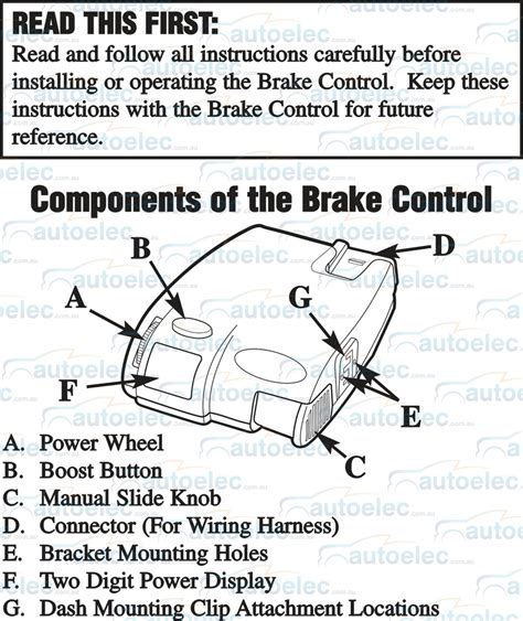 primus iq brake controller wiring diagram efcaviation