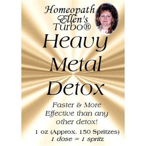 Pregnancy And Heavy Metal Detox by Heavy Metal Detox Spritz Homeopath S Turbo