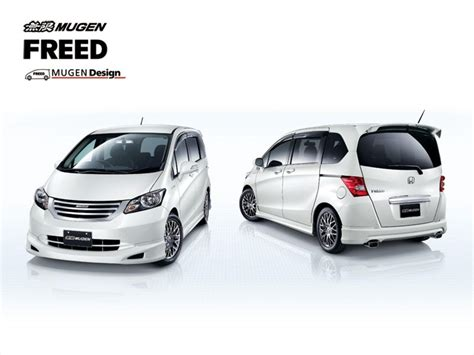 Spoiler Mugen Honda Freed by Honda Freed By Mugen News Top Speed