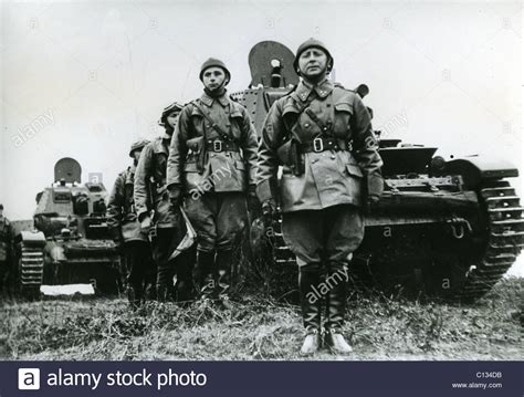 belgian tank corps unit in 1939 stock photo royalty free image