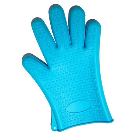 Kitchen Gloves by Heat Resistant Silicone Rubber Kitchen Gloves Oven Gloves