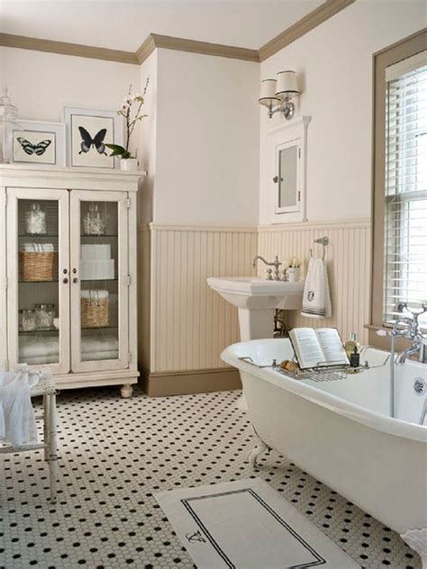 Farmhouse Bathrooms Ideas | 20 cozy and beautiful farmhouse bathroom ideas home