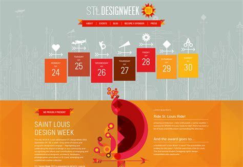 creative inspiring event websites webdesigner depot