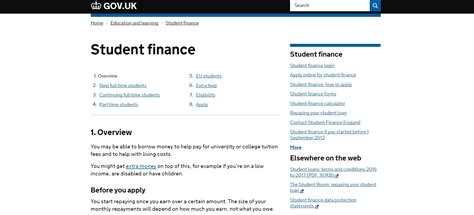 Student Finance Letter No Grant government institutions archives uk customer service contact numbers lists