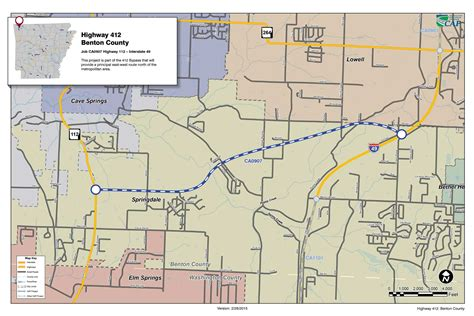 Benton County Ar Records Arkansas Highway Road Map