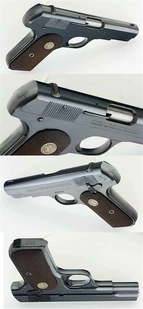 Try Before You Buy Part Iiifoundation Conceal 3 by Colt 1903 Pocket Type Iii 32 Acp Semiauto Pistol Made