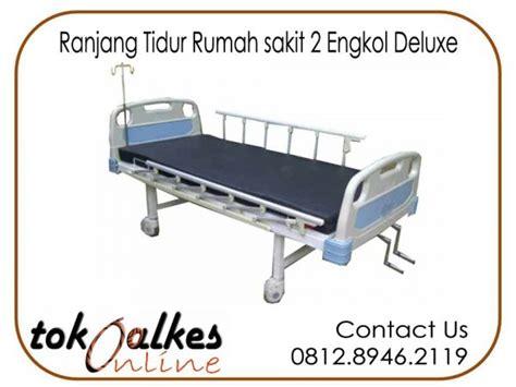 Ranjang Pasien 2 Engkol toko ranjang tidur rumah sakit murah toko alat kesehatan