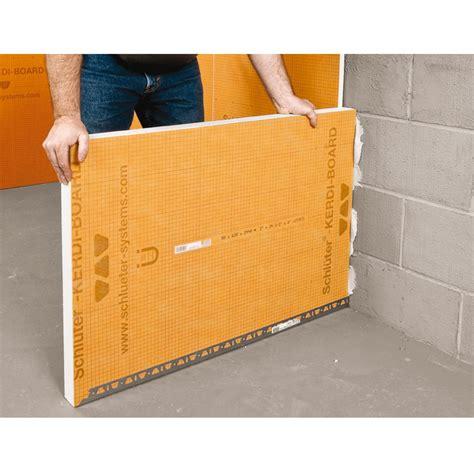 schluter kerdi board 62 5cm x 260cm buy schluter kerdi