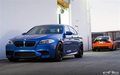 bmw supercar blue fire orange bmw m3 and monte carlo blue bmw m5 by eas