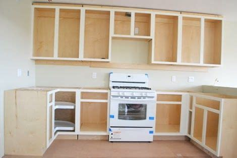Building Kitchen Cabinets From Scratch How To Build Cabinets From Scratch Fanti