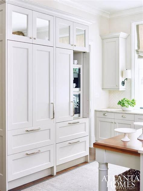 Kitchen Wall Pantry Cabinet by Pantry Built In Coffee Maker Design Ideas