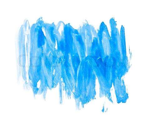 paint it blue blue water color paint texture stock photo colourbox