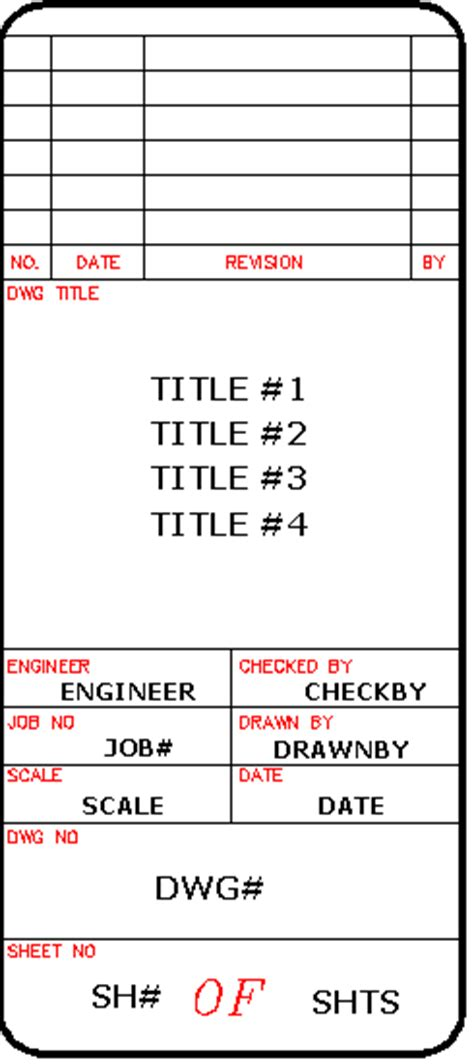 autocad tutorial how to insert a title block create a title block