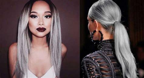 granny hair colour 2015 no importa si tienes 19 o 91 el cabello gris es para