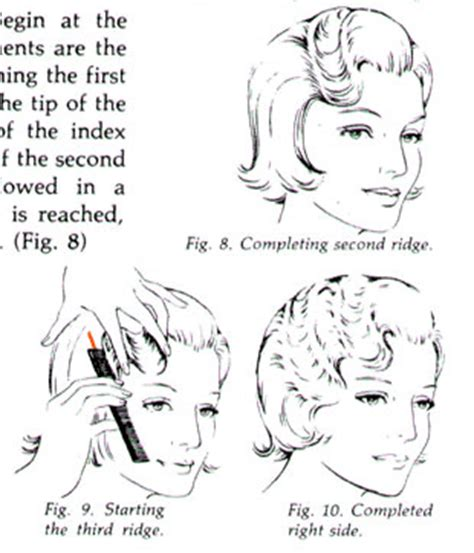 how to do a finger wave on a twa finger wave instructions popbetty