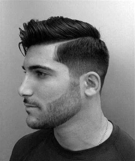 mens hard part haircuts 40 hard part haircuts for men sharp straight line style