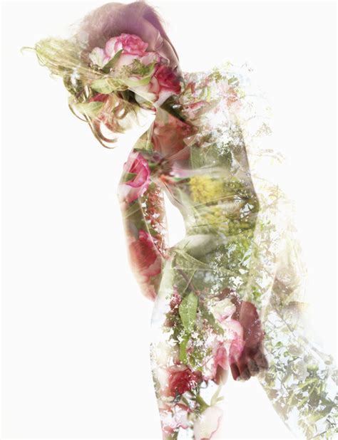 double exposure tutorial flowers beautiful double exposure shots that blend images of