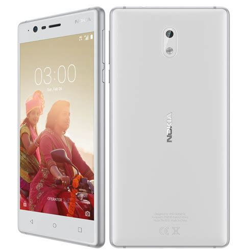 Nokia 5 3 16gb nokia 3 with 5 inch hd display android 7 0 8mp autofocus front and rear cameras 4g lte announced