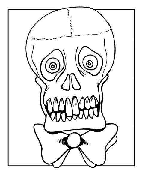 skull and crossbones coloring page coloring home