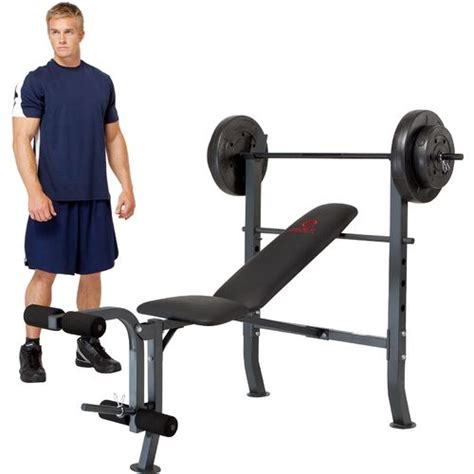 marcy standard bench with 80 lb weight set marcy diamond elite standard bench with 80 lb weight set