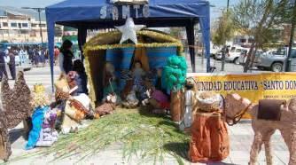 imagenes del nacimiento de jesus reciclado creativos nacimientos con reciclaje ecuador noticias
