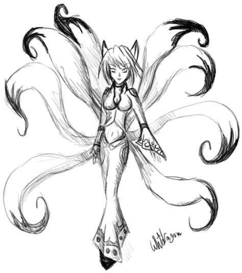 nine tails coloring pages pin nine tails colouring pages on pinterest