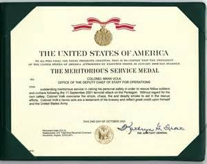 meritorious service medal citation template supporting material september 11 bearing witness to history
