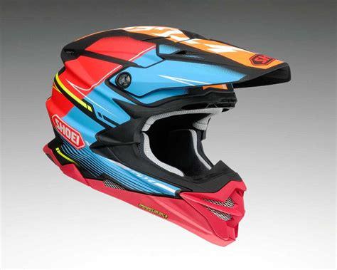 shoei motocross helmet shoei s new vfx evo dirt wheels magazine