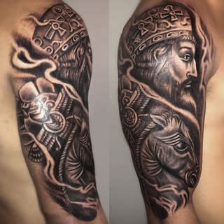 persian tribal tattoos darius the great king of