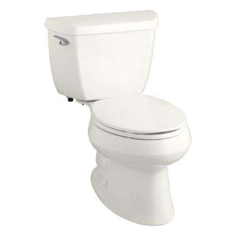 kohler wellworth toilet comfort height shop kohler wellworth biscuit watersense labeled elongated