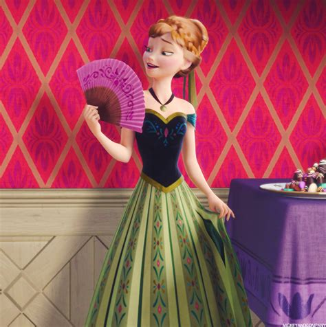 kostum princess anna frozen anna coronation dress part 1 anna and disney s