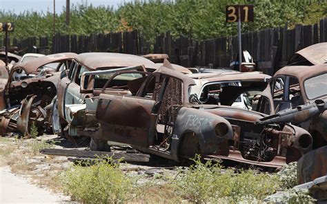 Mustang Auto Wrecking Yards by Junkyard Vintage Cars Turners Auto Wrecking Fresno